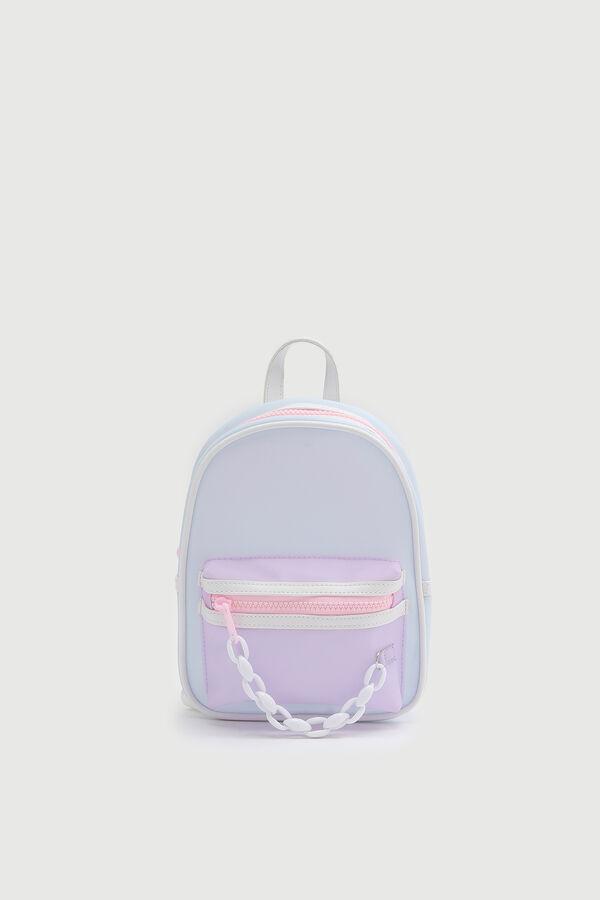 Mini Iridescent Backpack