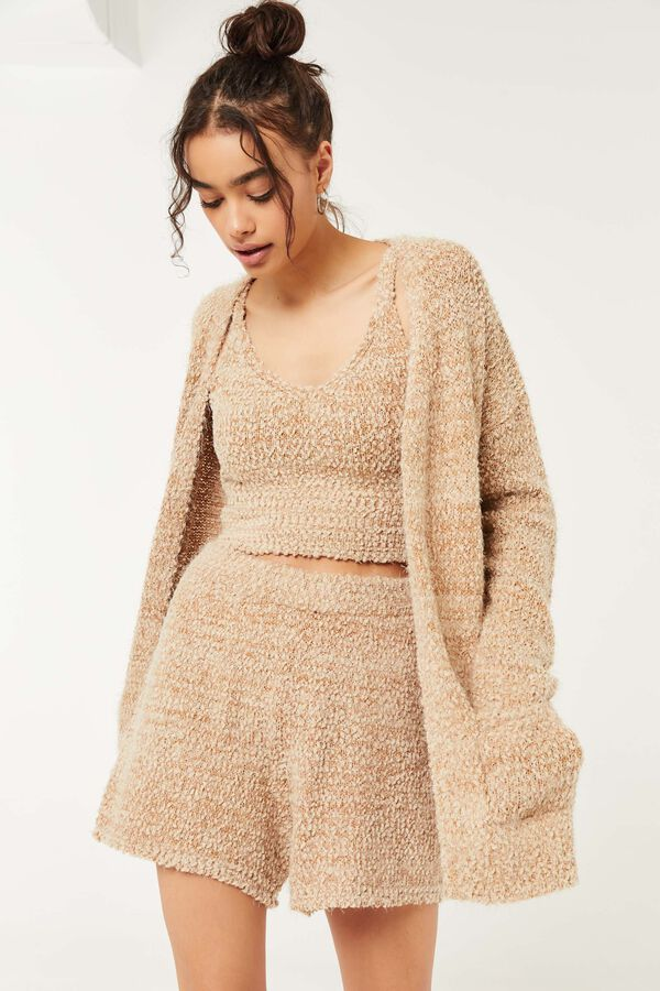 Fuzzy Pull-On Shorts