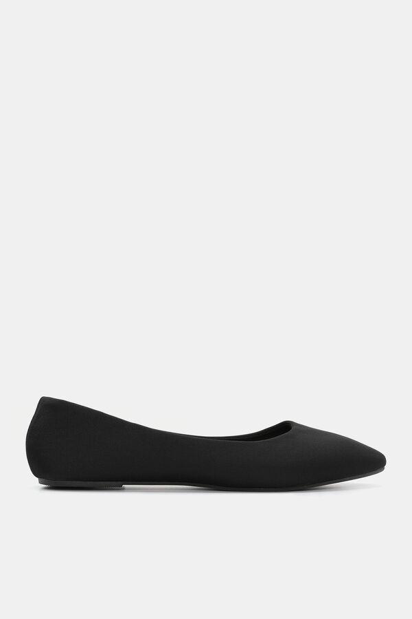 c58330c29a59 Images. Faux Faux Leather Slip-On Flats ...