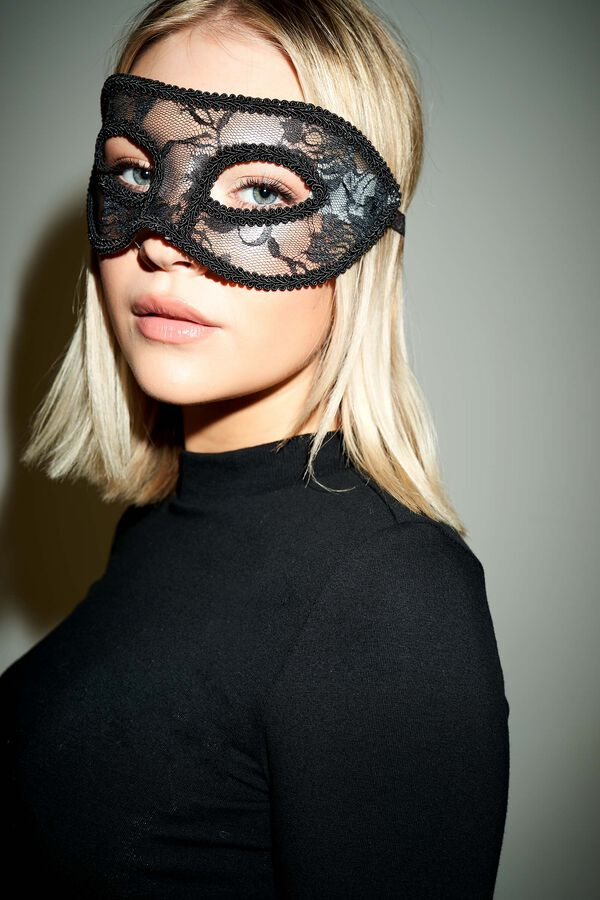 Masque de mascarade en dentelle