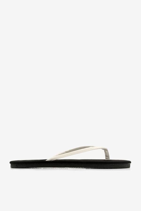 Flop-flops en faux cuir