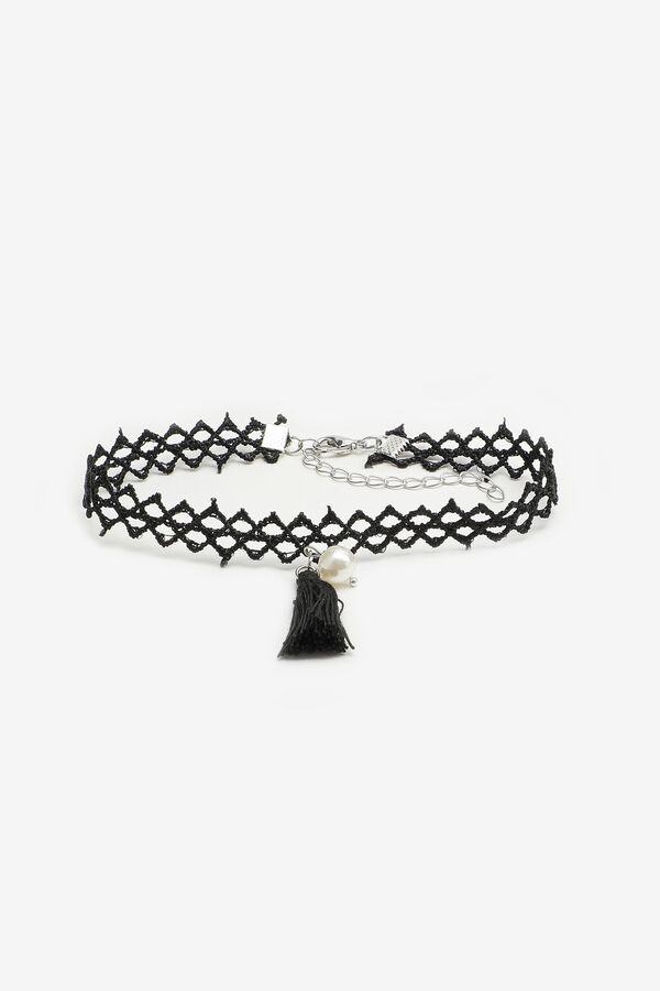 Anklet with Pearl and Tassel