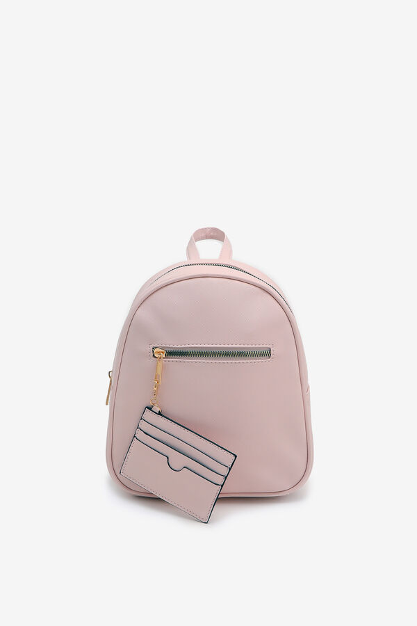 Simple Backpack with Card Slots