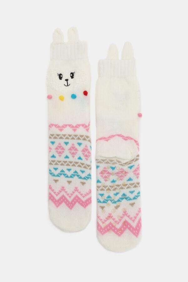 d6b0ef60129c Ardene Ardene Women s Llama Slipper Socks