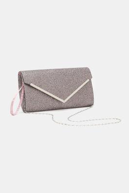 Glittery Envelope Clutch
