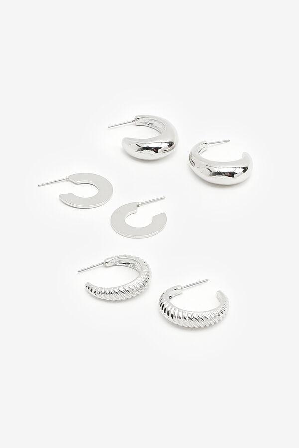 Pack of Bold Hoop Earrings