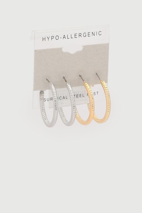 Boucles d'oreilles hypoallergéniques