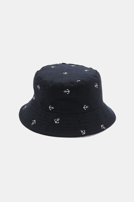 f5e0bd06 Reversible Anchor Print Bucket Hat