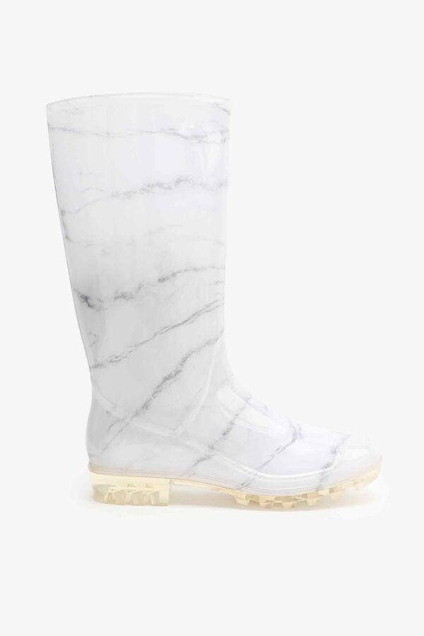 Marble Mid-Calf Rain Boots
