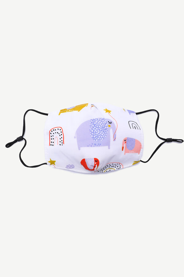 Elephant Face Covering for Kids