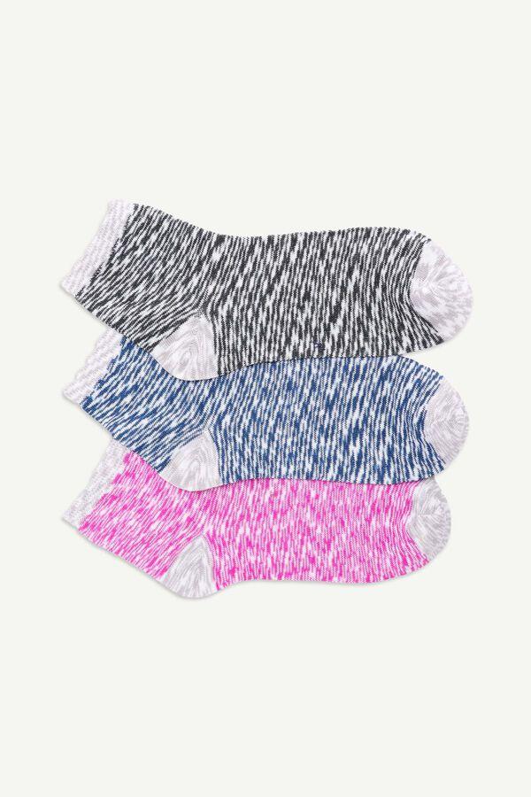 Space Dye Demi Crew Socks