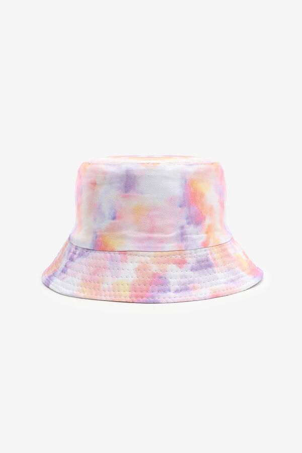 Chapeau de pêche tie-dye pastel