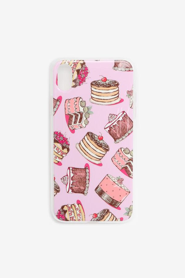 Étui d'iPhone XR gâteau
