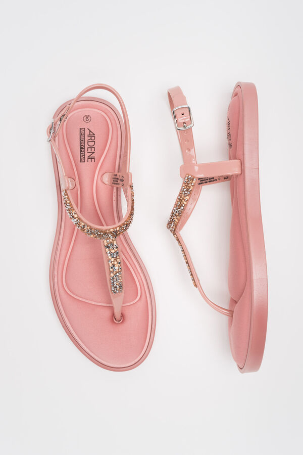 2c5c1224a740 Ardene Women s Memory Foam T-Strap Sandals