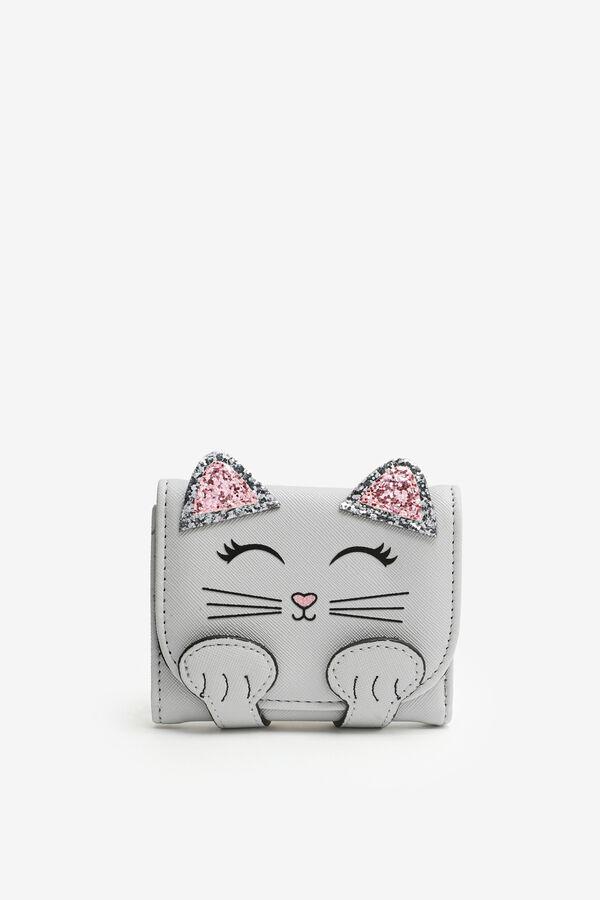 Cat Wallet for Girls