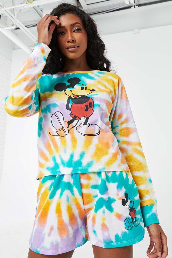 Molleton tie-dye Mickey Mouse