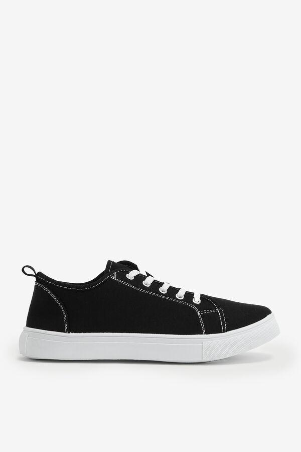 Contrasting Sneakers