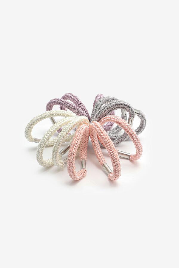 Paquet de 12 élastiques en tricot