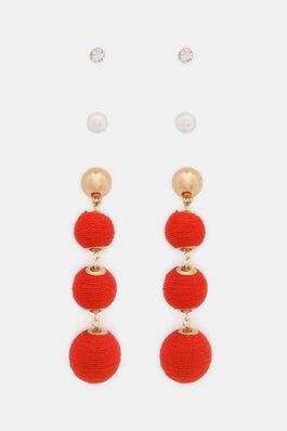 Set Of Orted Earrings