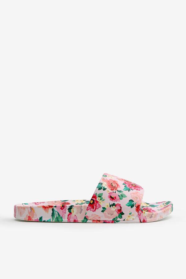 Sandales de piscine fleuries