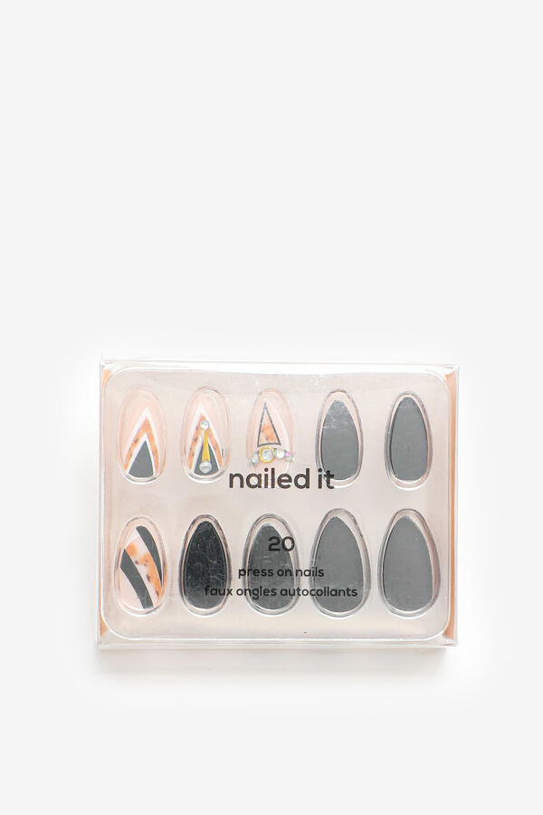 Pack of Printed Stiletto Fake Nails