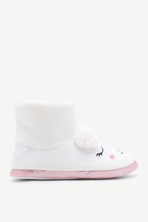 Lamb Bootie Slippers