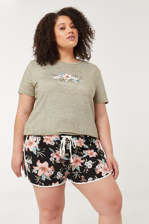 Hibiscus PJ Shorts