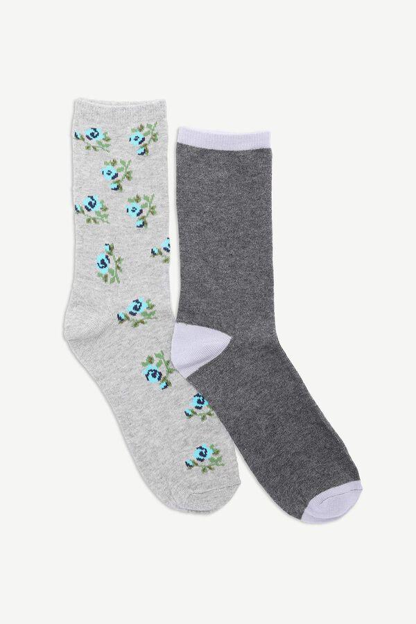 Pack of Floral Crew Socks