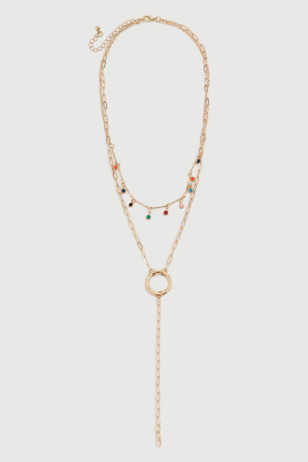 Layered Drop Necklace