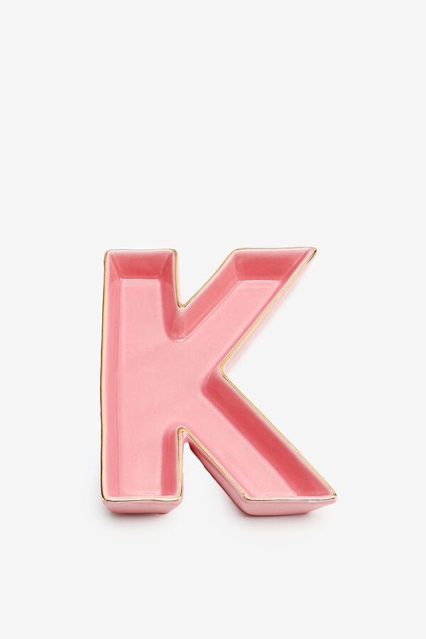 Letter K Trinket Tray