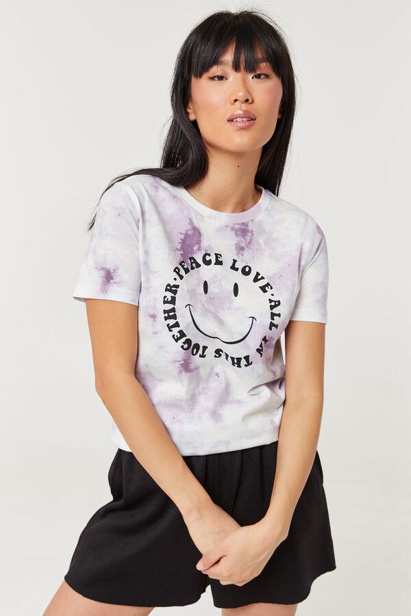 Peace Love Tie-dye Tee