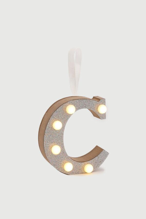 Glitter Letter C