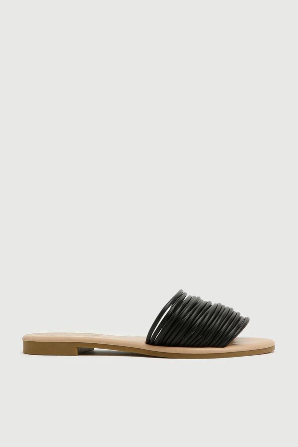 Strappy Slide Sandals