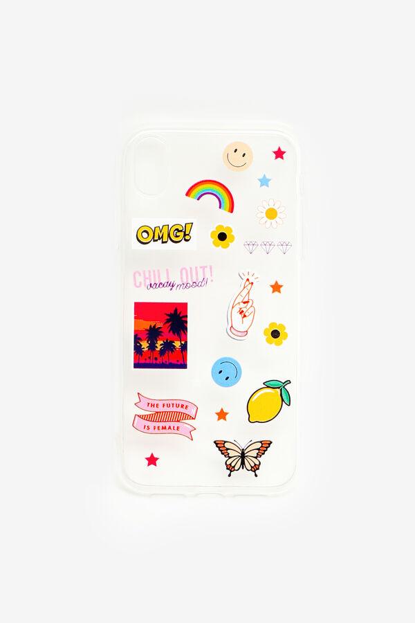 Sticker Print iPhone XR Case