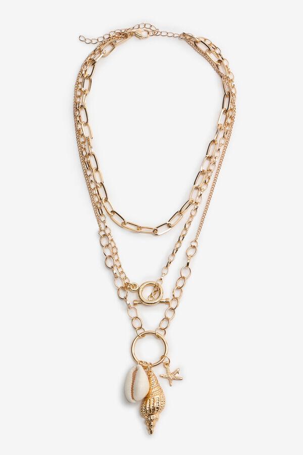 Seashell Layered Necklace
