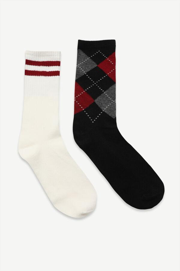 Paquet de 2 paires de chaussettes