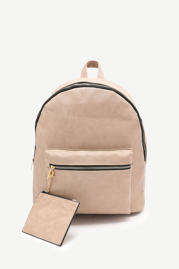 Backpack with Removable Coin Purse