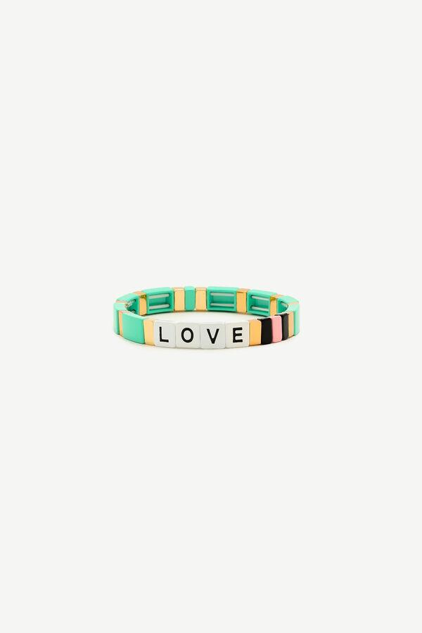Bracelet à bréloques Love