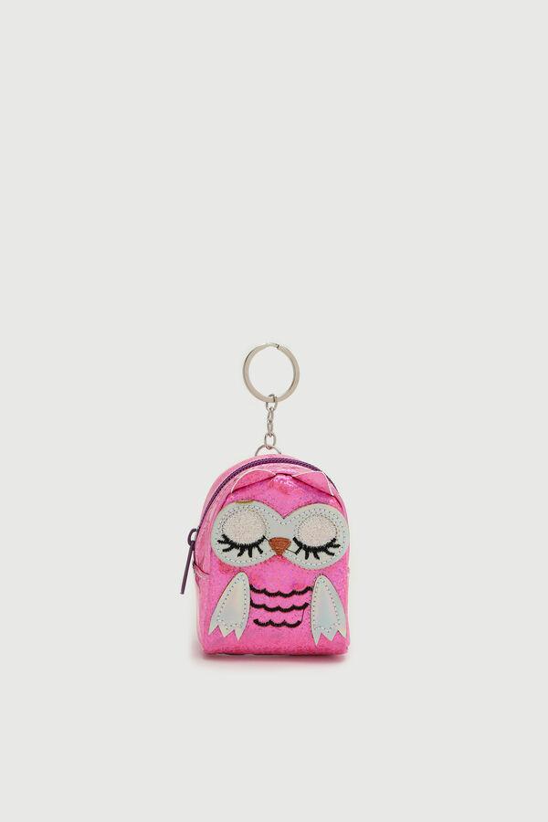 Mini Owl Backpack Keychain