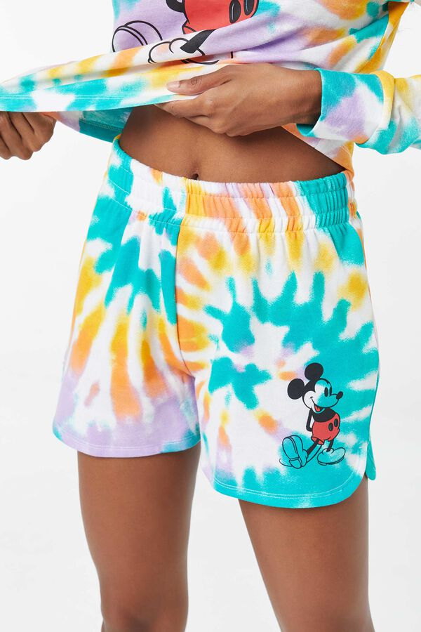 Tie-Dye Mickey Mouse Shorts