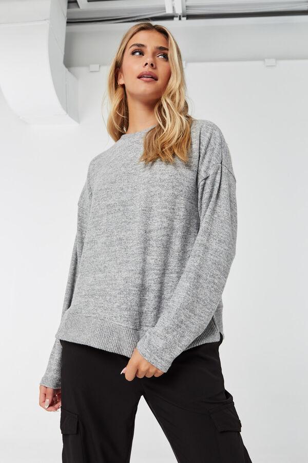 Brushed Crew Neck Sweater