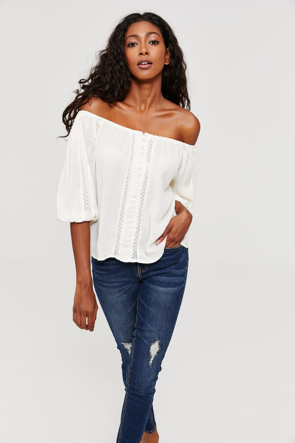 6e52a16e86435 Ardene Ardene Women s Off Shoulder Peasant Top