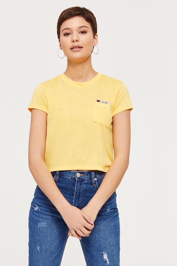 36b39e1e Ardene Ardene Women's Yellow Short-Sleeved Swimmer Tee, yellow, fall winter  2019 CLOTHING, ...