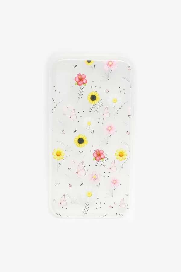 Butterfly and Flower iPhone XR Case