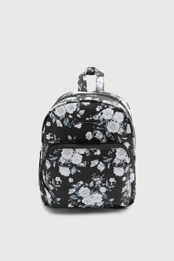 Floral Simple Backpack