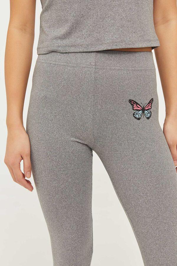High Waist Butterfly Leggings