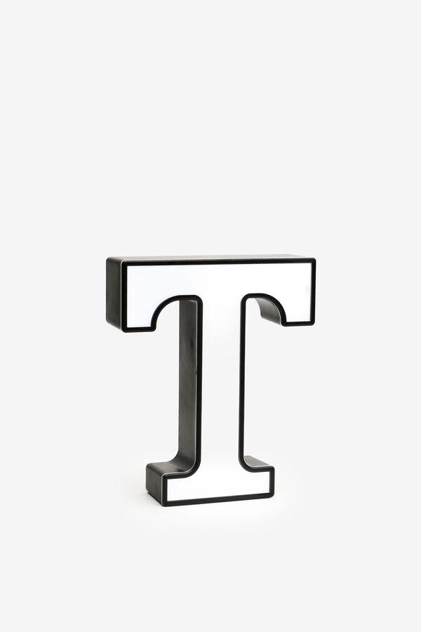 Light Up Letter T