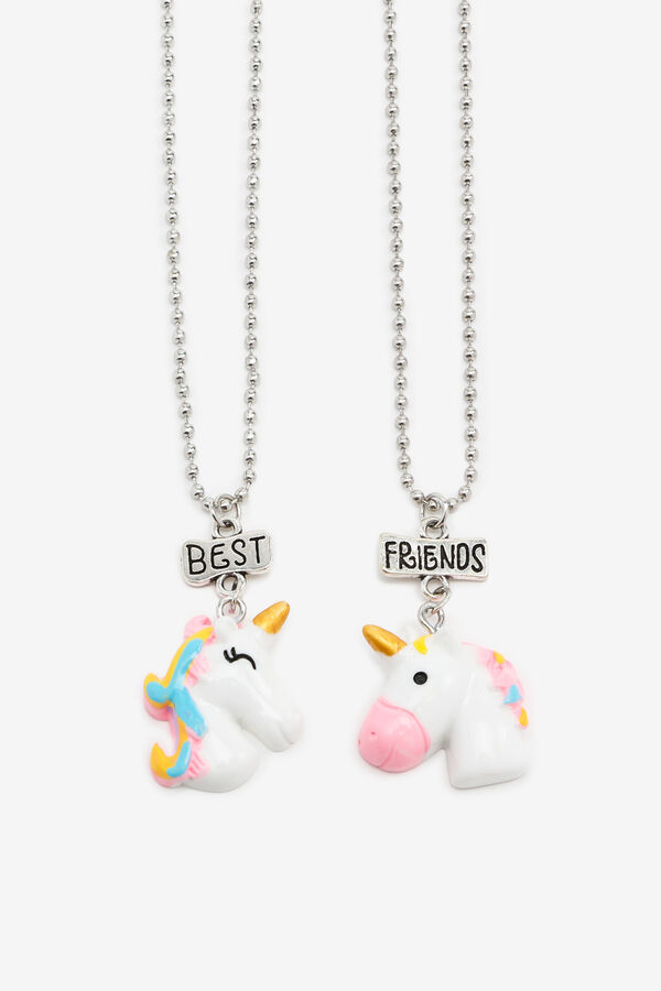 Colliers BFF licorne pour filles