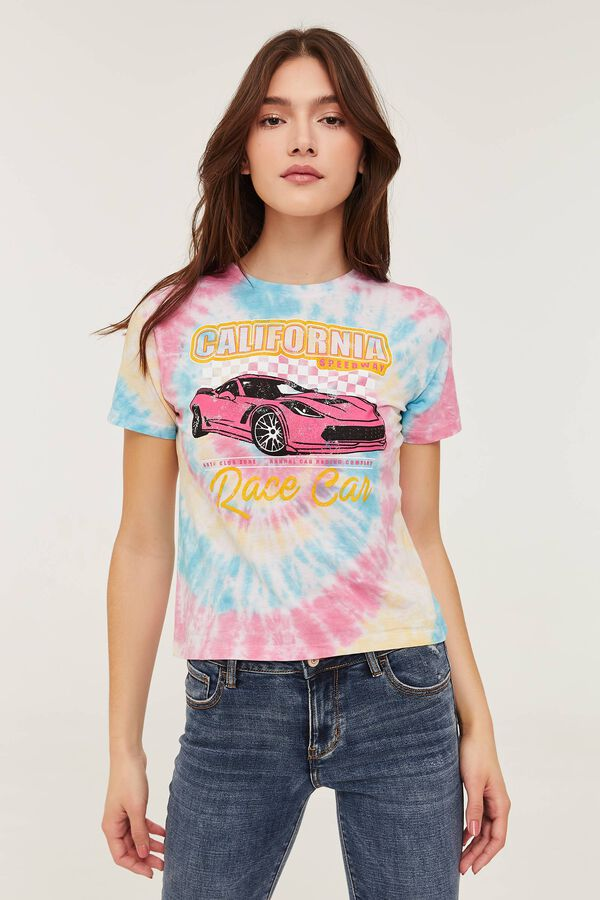 Tie-Dye Race Car T-shirt