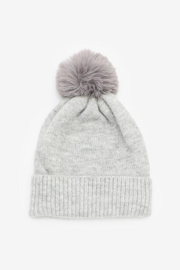 Soft Knit Beanie with Pompom